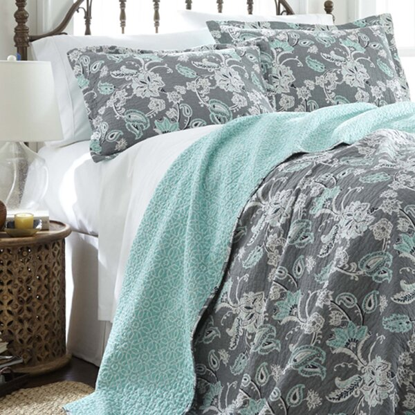 Tomblin 3 Piece Reversible Quilt Set by Three Posts