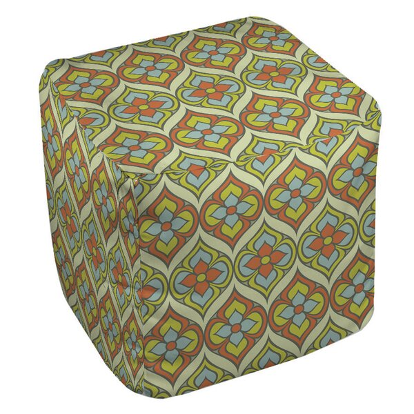 Napoli November 103 Pouf by Manual Woodworkers & Weavers