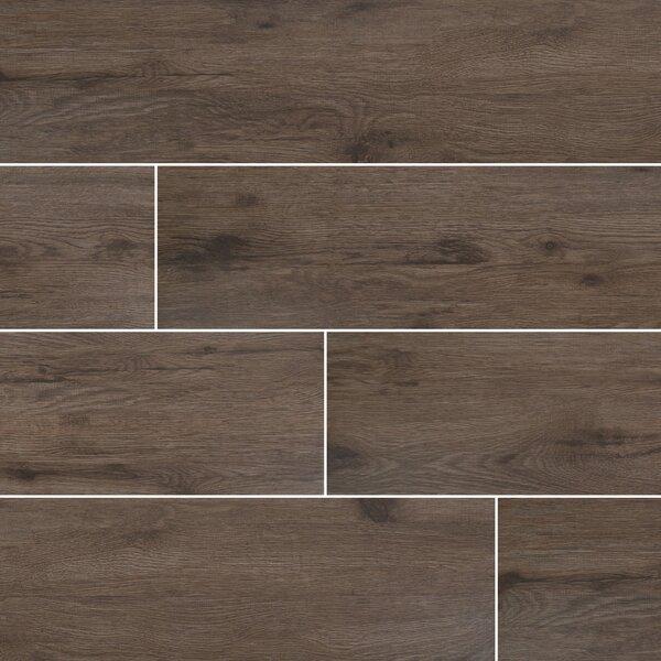 8 x 40 Ceramic Field Tile in Brown by MSI