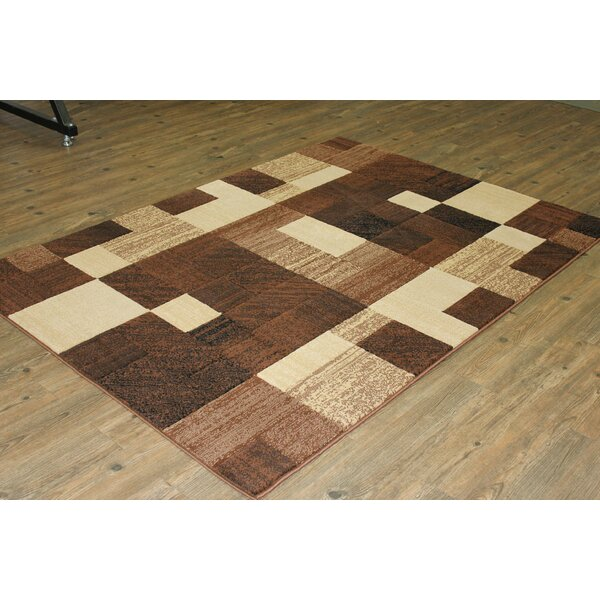LifeStyle Brown/Beige Area Rug by Rug Factory Plus