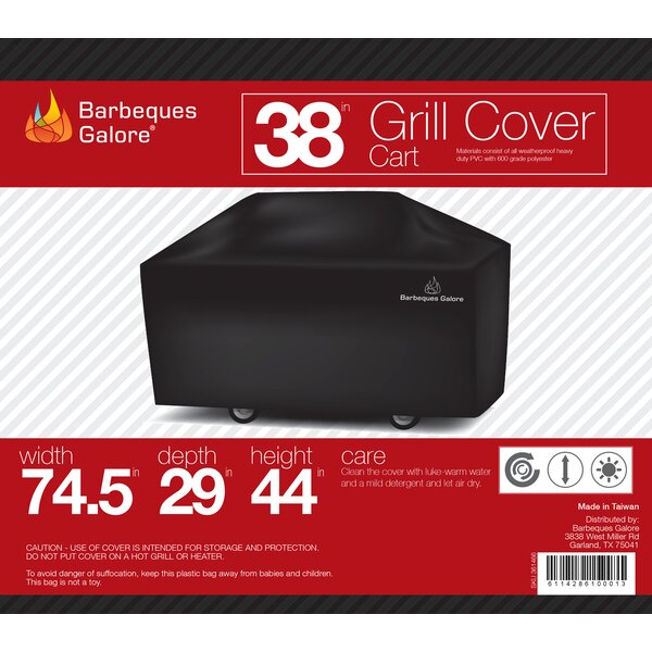 Grand Turbo Grill Cover - Fits up to 69 by Barbeques Galore