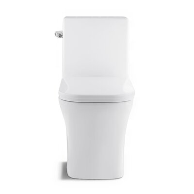Water Efficient Elongated One Toilet Seat Lever Location