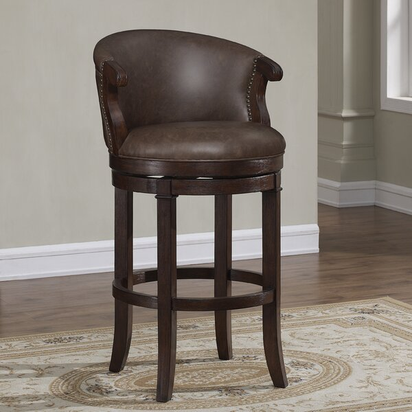 Bonfield 26 Swivel Bar Stool by Darby Home Co