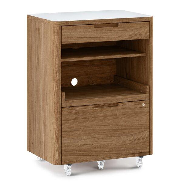 Kronos Mobile Filing Cabinet by BDI
