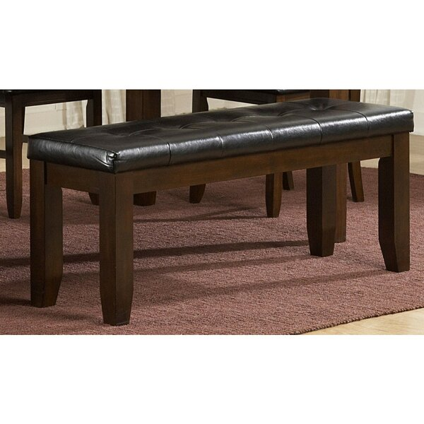 Scarlett Faux Leather Bench By Alcott Hill
