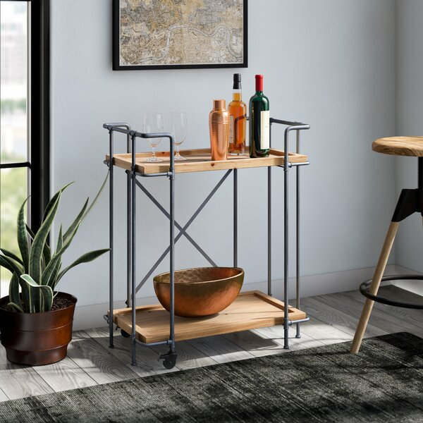 Remy Bar Cart by Williston Forge Williston Forge
