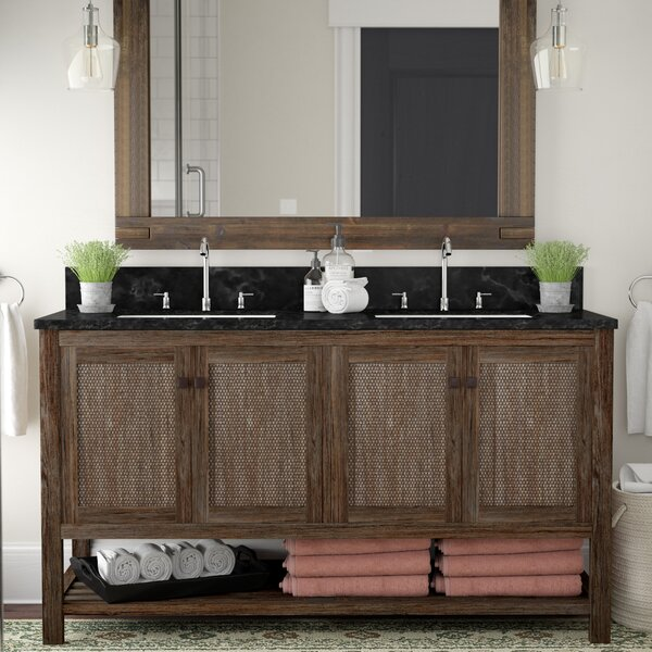 Inkom 60 Double Bathroom Vanity Set by Laurel Foundry Modern Farmhouse