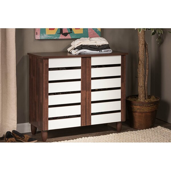 Margaret 9 Pair Shoe Storage Cabinet