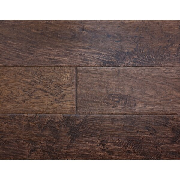 Rustic Old West 7 Engineered Hickory Hardwood Flooring in Barn Door by Albero Valley