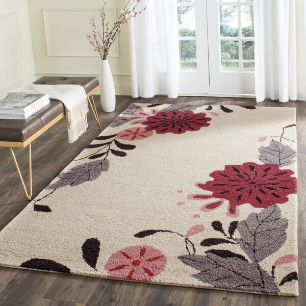 Hand-Tufted Ivory Area Rug by Martha Stewart Rugs