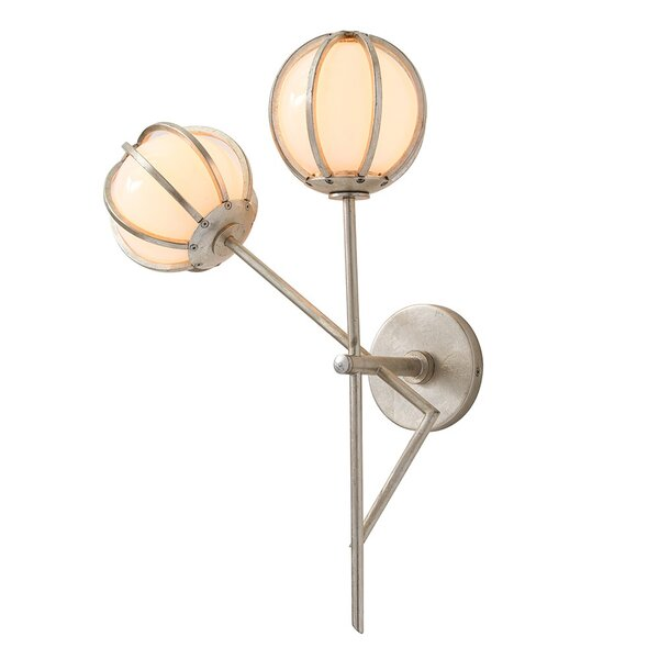 Millennium 2-Light Armed Sconce by ARTERIORS