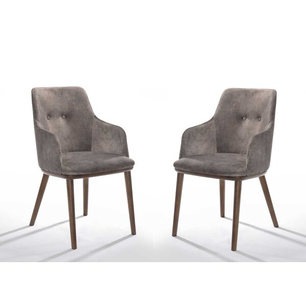 Goldenberg Upholstered Dining Chair (Set Of 2) By Wrought Studio