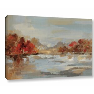 'Late Fall Reminiscence' Painting Print on Wrapped Canvas by Three Posts