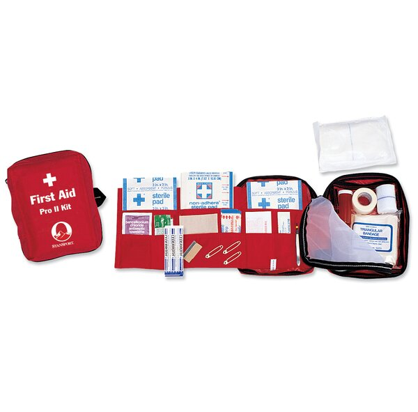 Pro II First Aid Kit by Stansport
