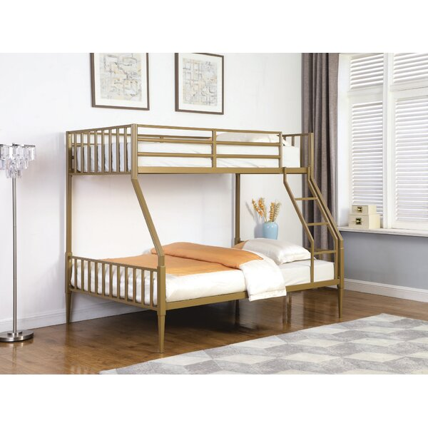 Cabello Twin Over Full Bunk Bed By Everly Quinn by Everly Quinn 2020 Sale