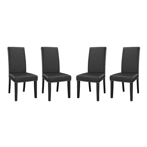 Smallwood Upholstered Dining Chair (Set of 4) by Alcott Hill Alcott Hill®