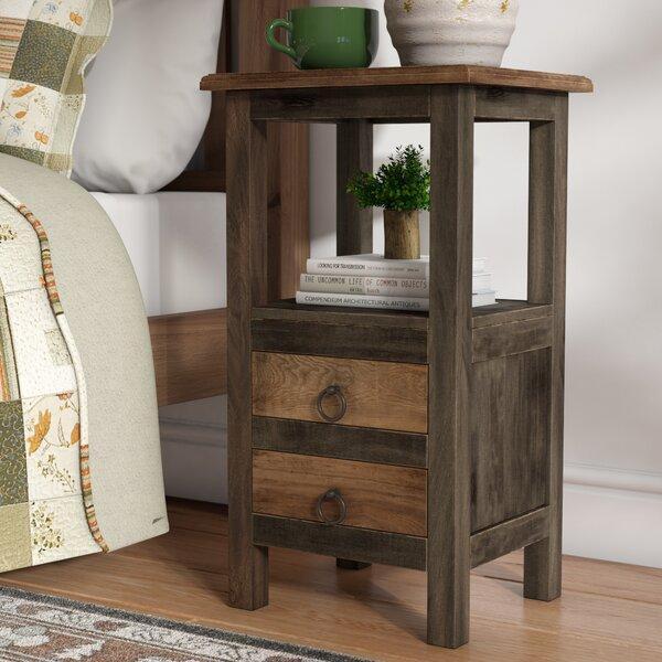 Plattsburgh End Table with Storage by Loon Peak