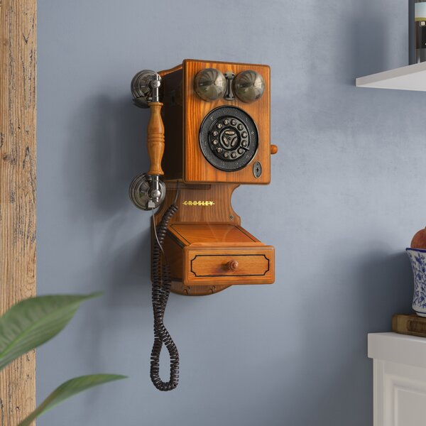 Country Kitchen Wall Phone by Astoria Grand
