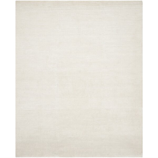 Flanigan Ivory Area Rug by Wrought Studio