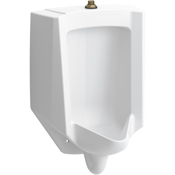 Bardon™ High-Efficiency Urinal (HEU), Washdown, Wall-Hung, 0.125 GPF to 1.0 GPF, Top Spud, Antimicrobial by Kohler