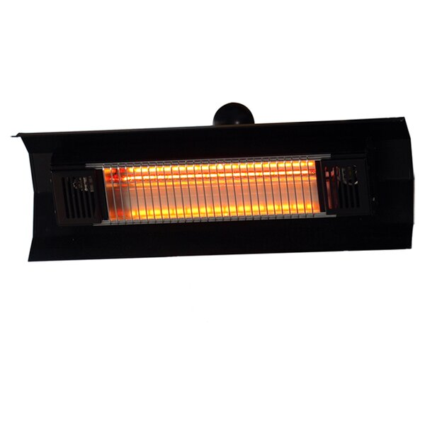 Wall Mounted 1500 Watt Electric Mounted Patio Heater by Fire Sense