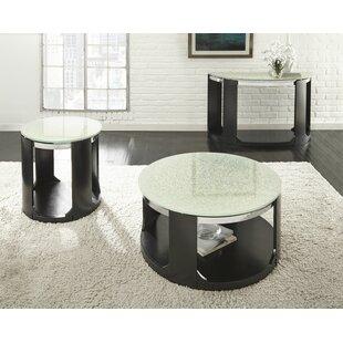 Low priced Charly 3 Piece Coffee Table Set ByLatitude Run