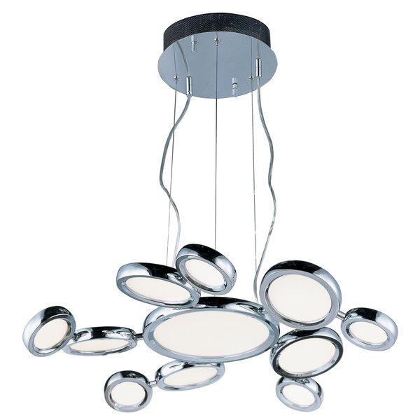 Bufford 11-Light LED Geometric Chandelier by Orren Ellis