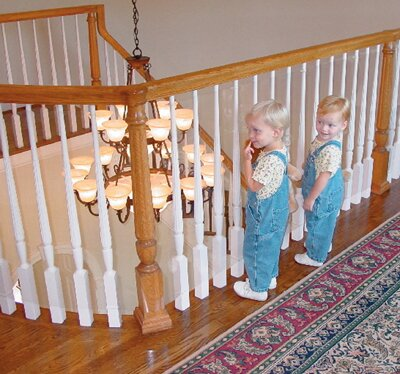 Kid Safe Banister Guard by Kid Kusion