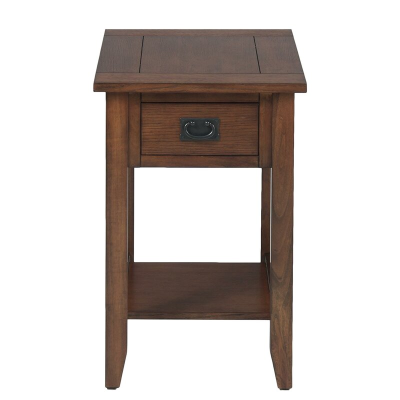 Millwood Pines Zachery Chairside End Table With Storage Reviews