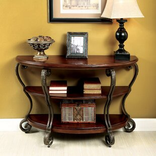 Inexpensive Voorhees Console Table ByDarby Home Co