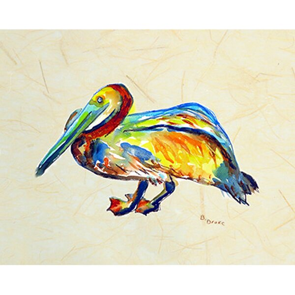 Gertrude Pelican Placemat (Set of 4) by Betsy Drake Interiors