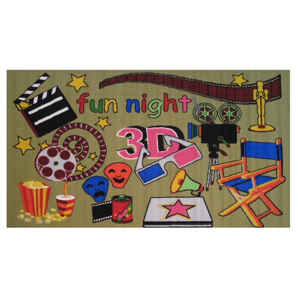 Fun Time Movie Time Area Rug by Fun Rugs