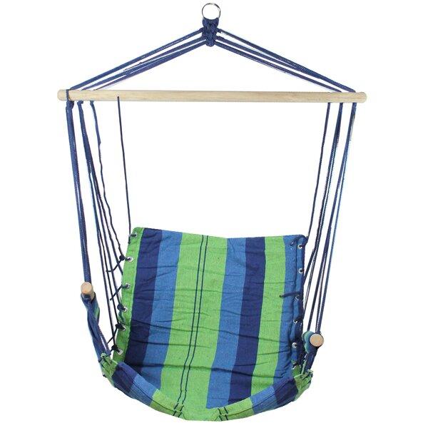 Derrick Striped Chair Hammock by Highland Dunes