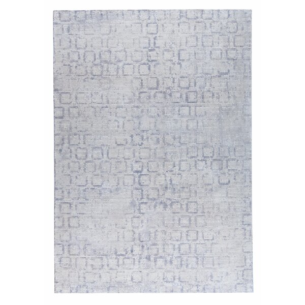 Tampa Hand-Woven Gray Area Rug by M.A. Trading