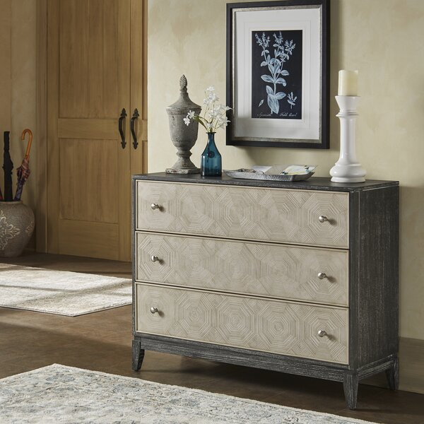 Rise 2-Tone 3 Drawer Standard Chest by Gracie Oaks