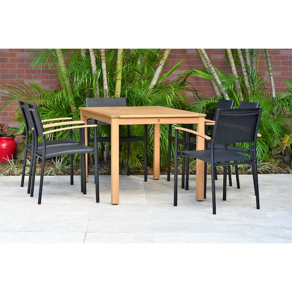 Onamia 7 Piece Dining Set (Set of 7) by Wrought Studio