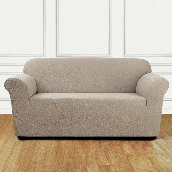 Low Price Box Cushion Loveseat Slipcover