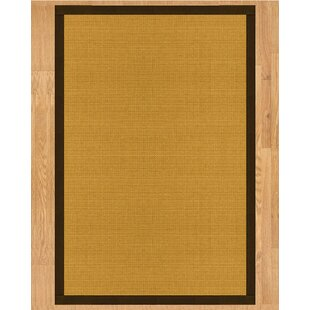 Davlin Hand Crafted Fudge Area Rug ByNatural Area Rugs