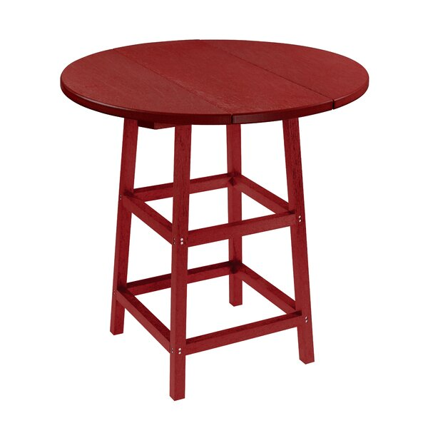 Melodi Plastic/Resin Bistro Table by Highland Dunes