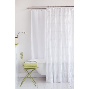 Comparison Rachael 100% Cotton Shower Curtain By Amity Home