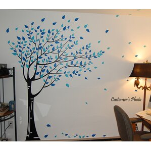 Trees And Flower Wall Decals Youll Love Wayfair - Can i put a wall decal on canvas