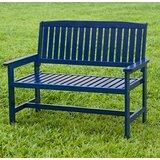 Super Navy Blue Outdoor Bench Wayfair Ca Cjindustries Chair Design For Home Cjindustriesco