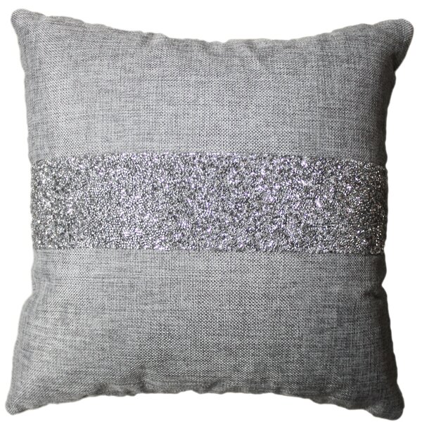 Luminous Stripe Throw Pillow by Sparkles Home