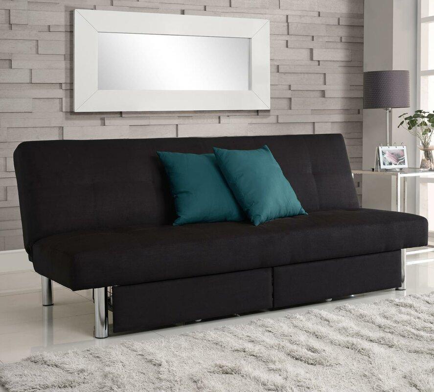 Zipcode Design Adrienne Storage Convertible Sofa Reviews Wayfair - Convertible sofas