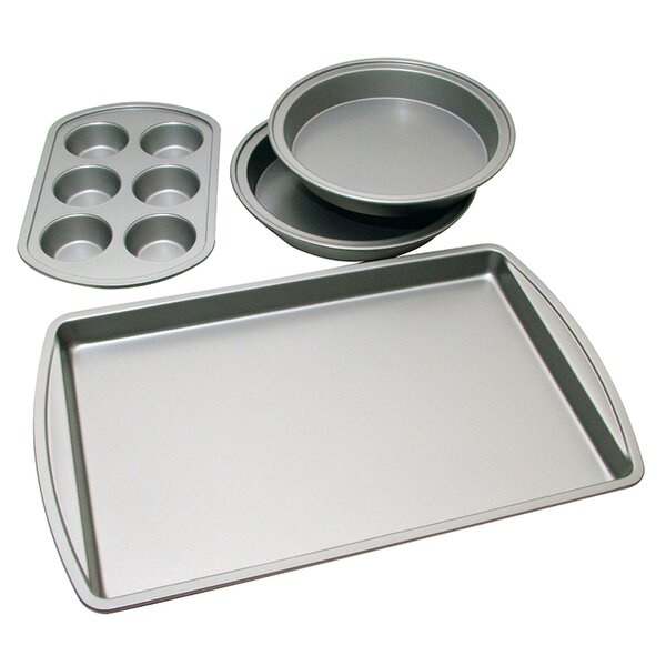 4 Piece Bakeware Set by Le Chef