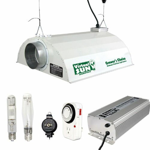400 Watt HPS+MH Grow Light Hood Reflector Digital Ballast Kit by Virtual Sun