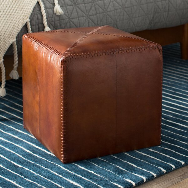 Gustavus Cube Ottoman by Canora Grey