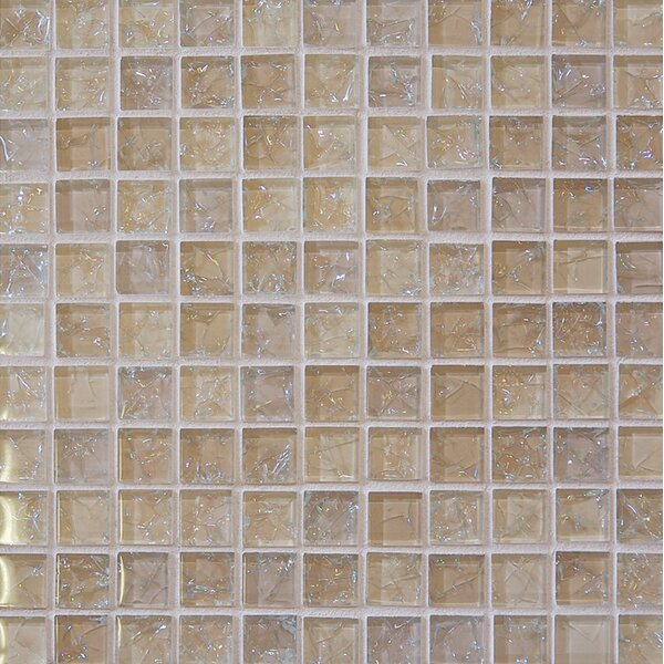 Staccato Mosaic Gloss Tile in Tawny by Grayson Martin