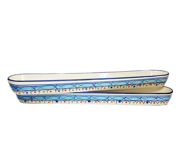 Tibarine 2 Piece Gravy Boat Set (Set of 4) by Le Souk Ceramique