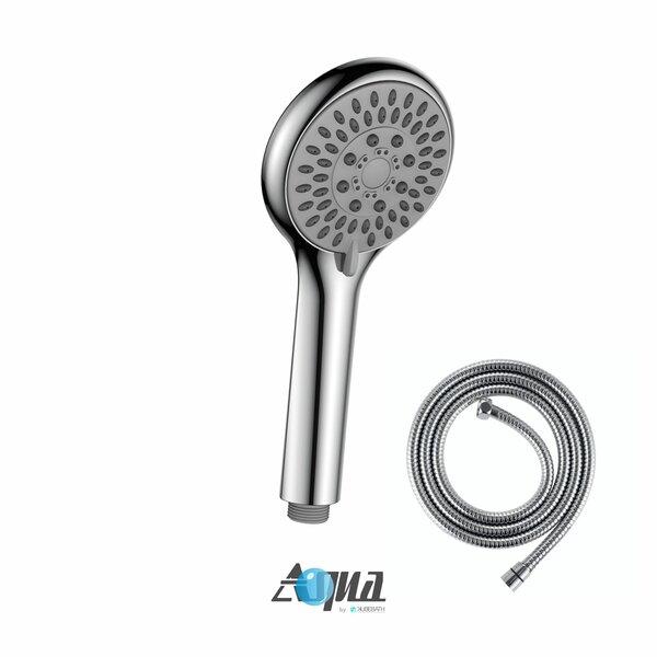 Aqua 4 Multifunction Handheld with Flexible Hose by Kube Bath